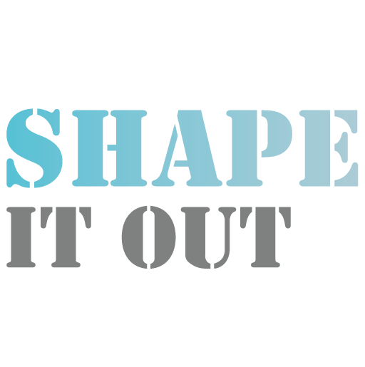 logo shape it out
